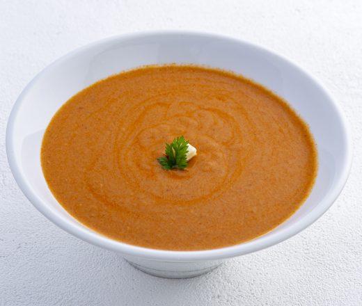 別府湾産車海老のクリームスープ
