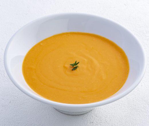 大分県産完熟トマトのクリームスープ