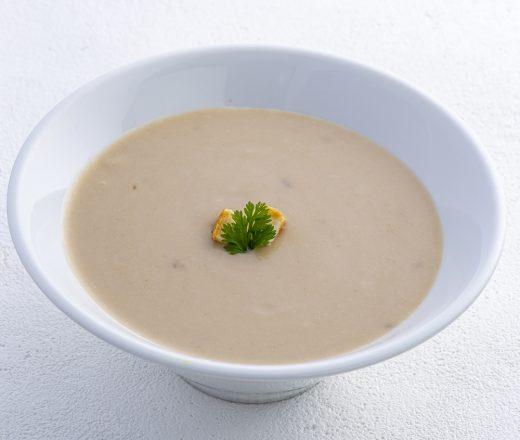 里芋とレンコンの潤いスープ